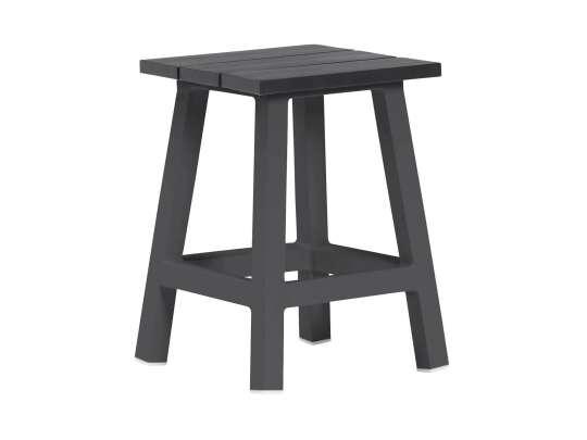 Gardenart krakk eller bord i sort aluminium
