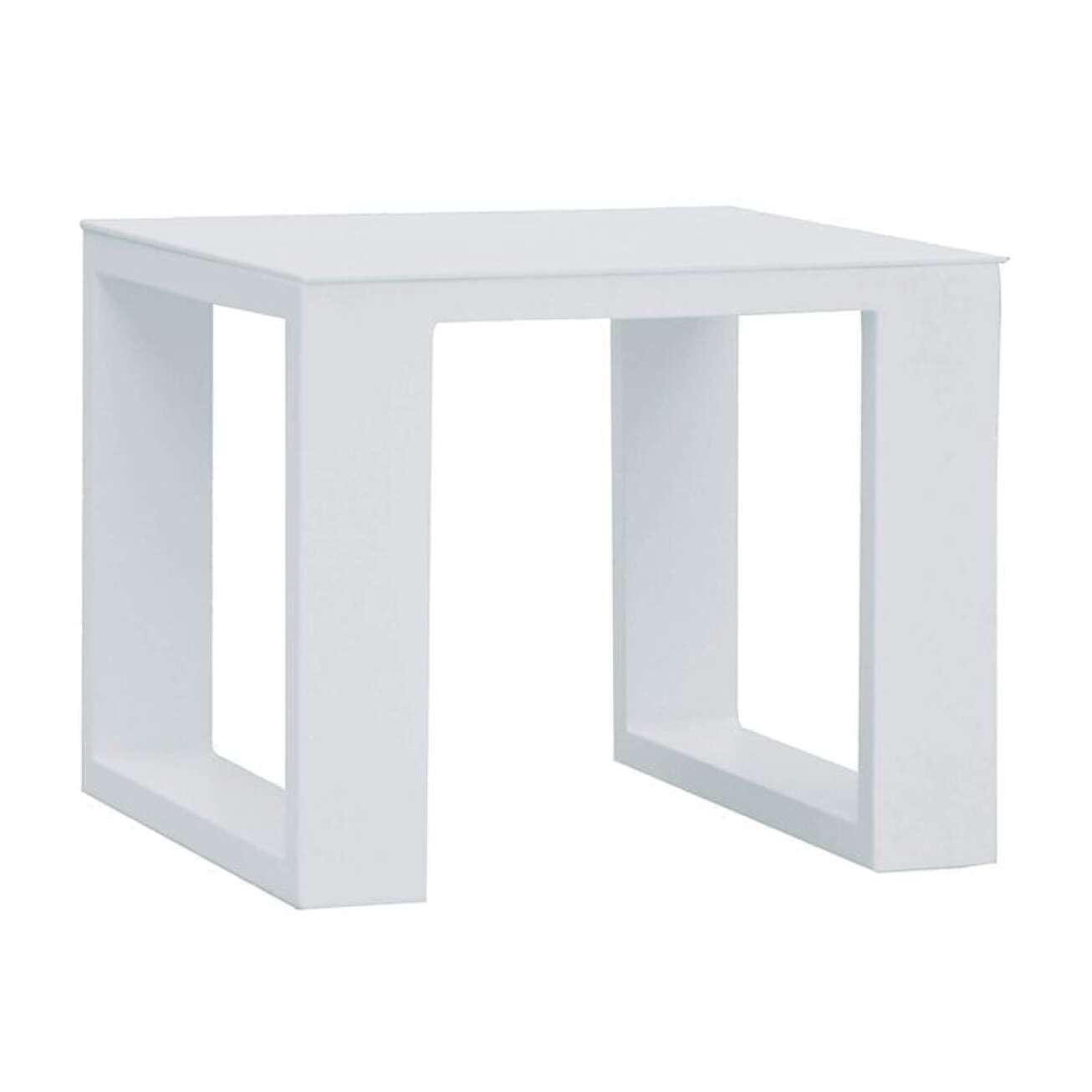 Gardenart Sidebord I Aluminium Hvit (100597hvit) Hagemøbler og utemøbler - Fine design