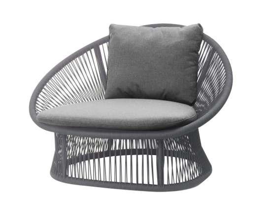 100621grå Hagemøbler og utemøbler - Fine design