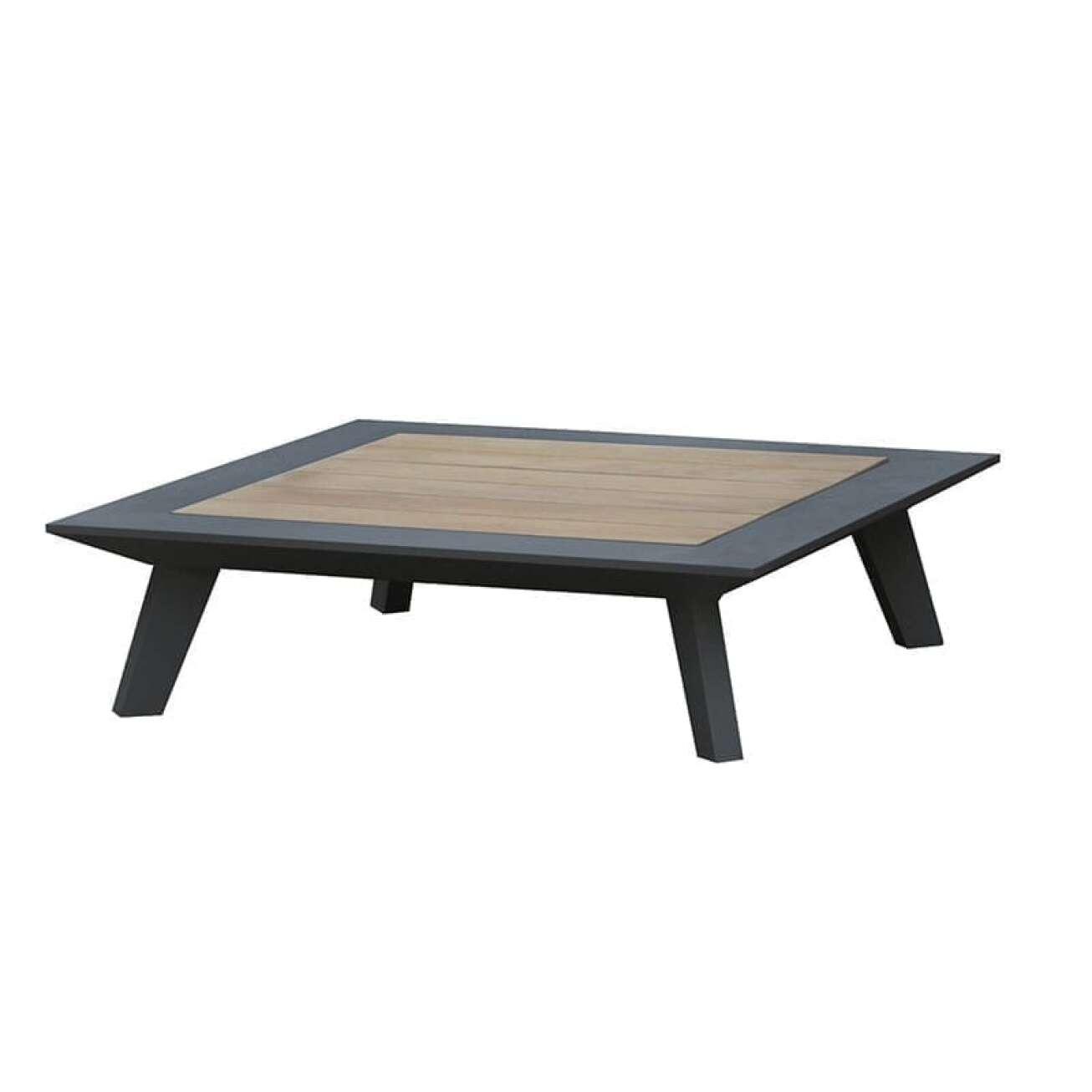 Gardenart Sofabord Kvadatisk (100680sort) Hagemøbler og utemøbler - Fine design
