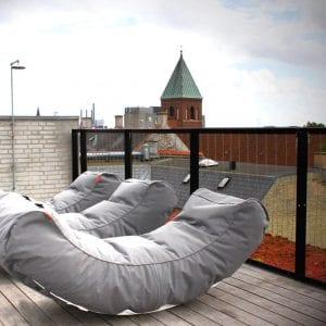 Hagemøbler og utemøbler - Fine design, beanbag til hagen, balkongen, verandaen, stranden, hytta