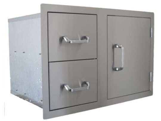 Signature modulære utekjøkkenspekter dobbelskuff og enkeltdør