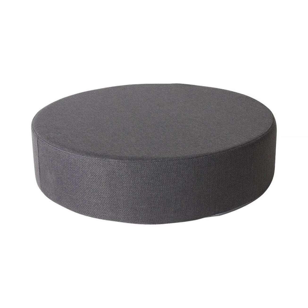 Sundays puff mama i mørkegrått, diameter 80 cm