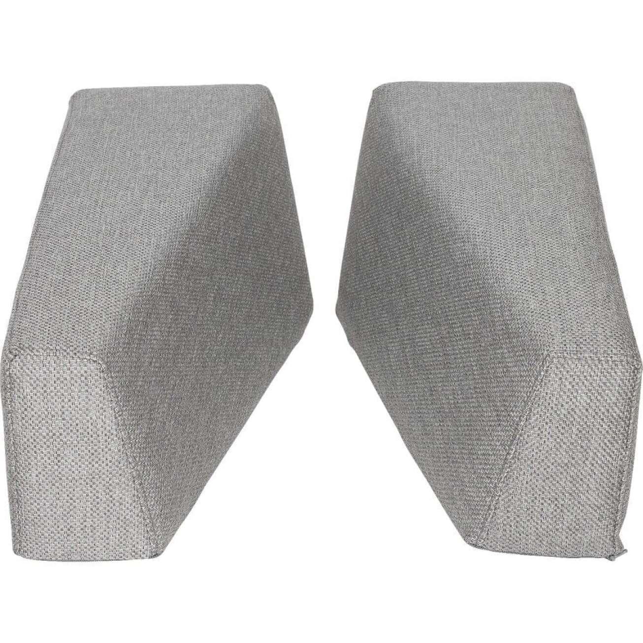 Sundays Frame høyre- og venstrepute til armlene i grå tekstil