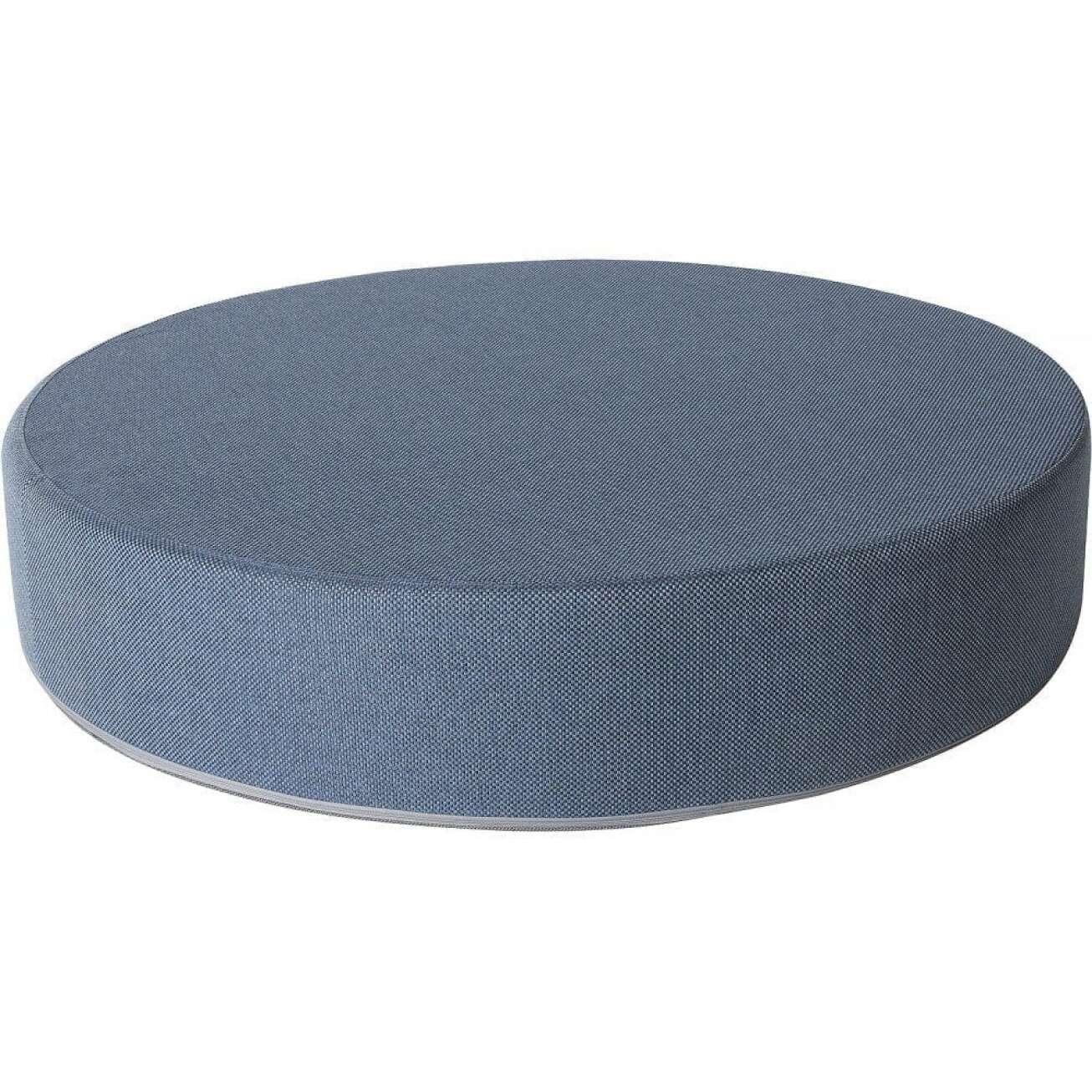 Sundays puff mama i blå farge, diameter 80 cm