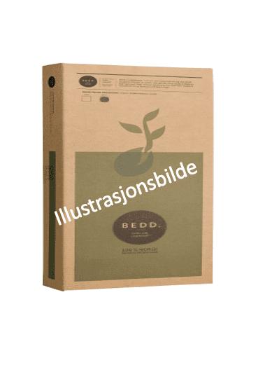 Illustrasjonsbilde av BEDD panel emballasje