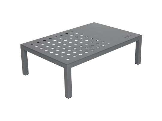 Sundays Frame firkantet sofabord i grå aluminium lakkert med Jotun pulverlakk