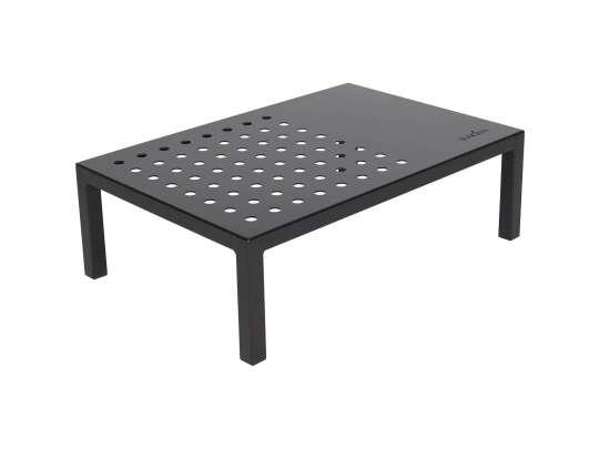 Sundays Frame firkantet sofabord i sort aluminium