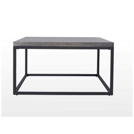 Salg: Betongbord Med Sort Ramme 90×90 Cm. (100074) Hagemøbler og utemøbler - Fine design