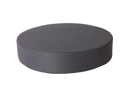 Sundays puff mama i mørkegrå farge, diameter 80 cm