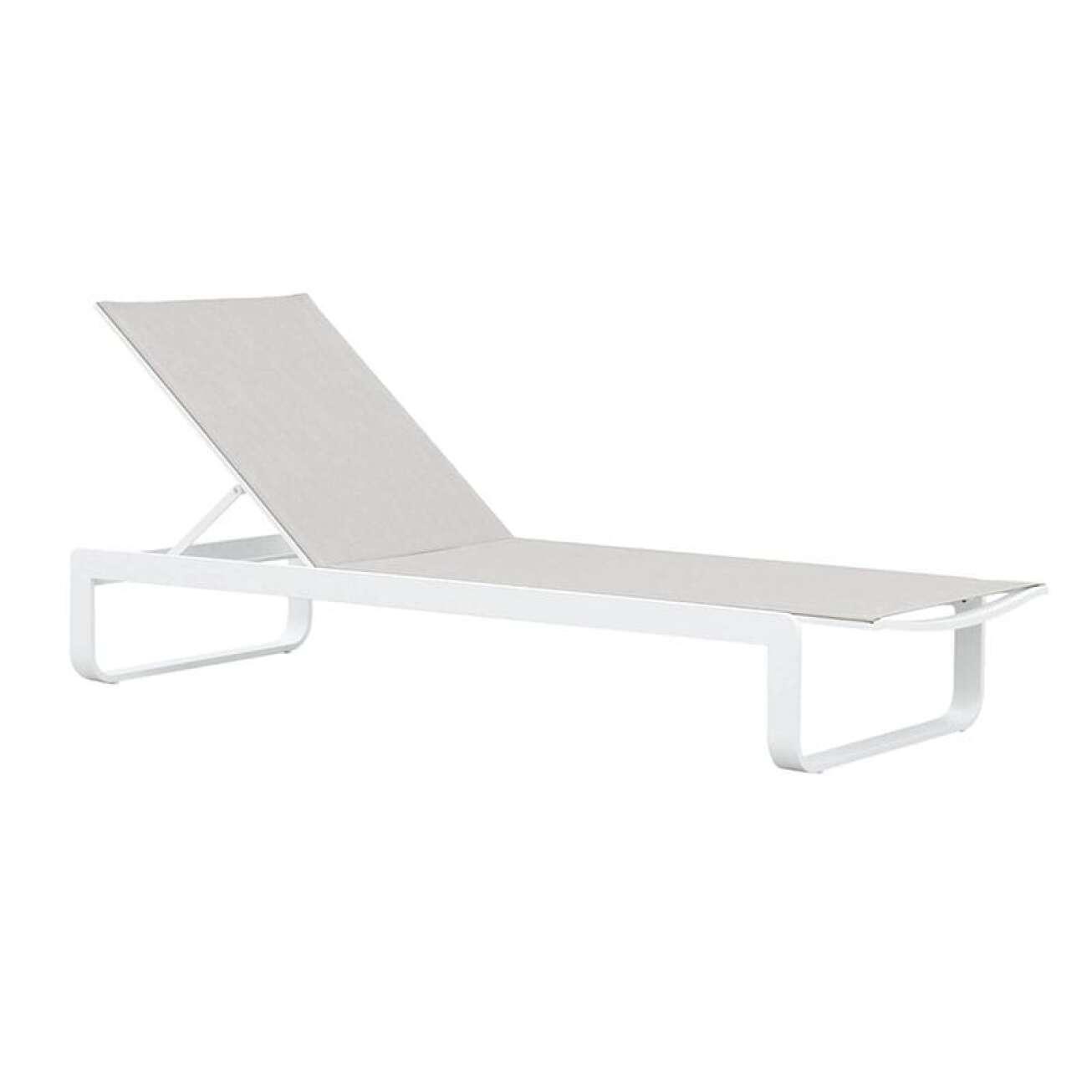 Gardenart Solseng I Hvit Aluminium Og Textilene (100530hvit) Hagemøbler og utemøbler - Fine design