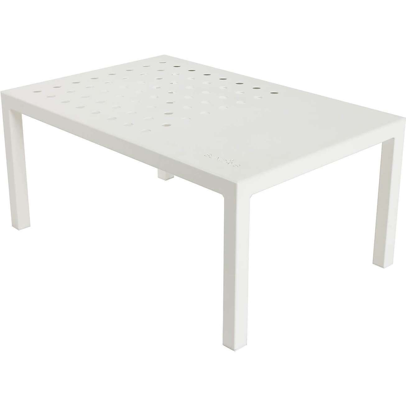 Sundays Frame sofabord i hvit aluminium