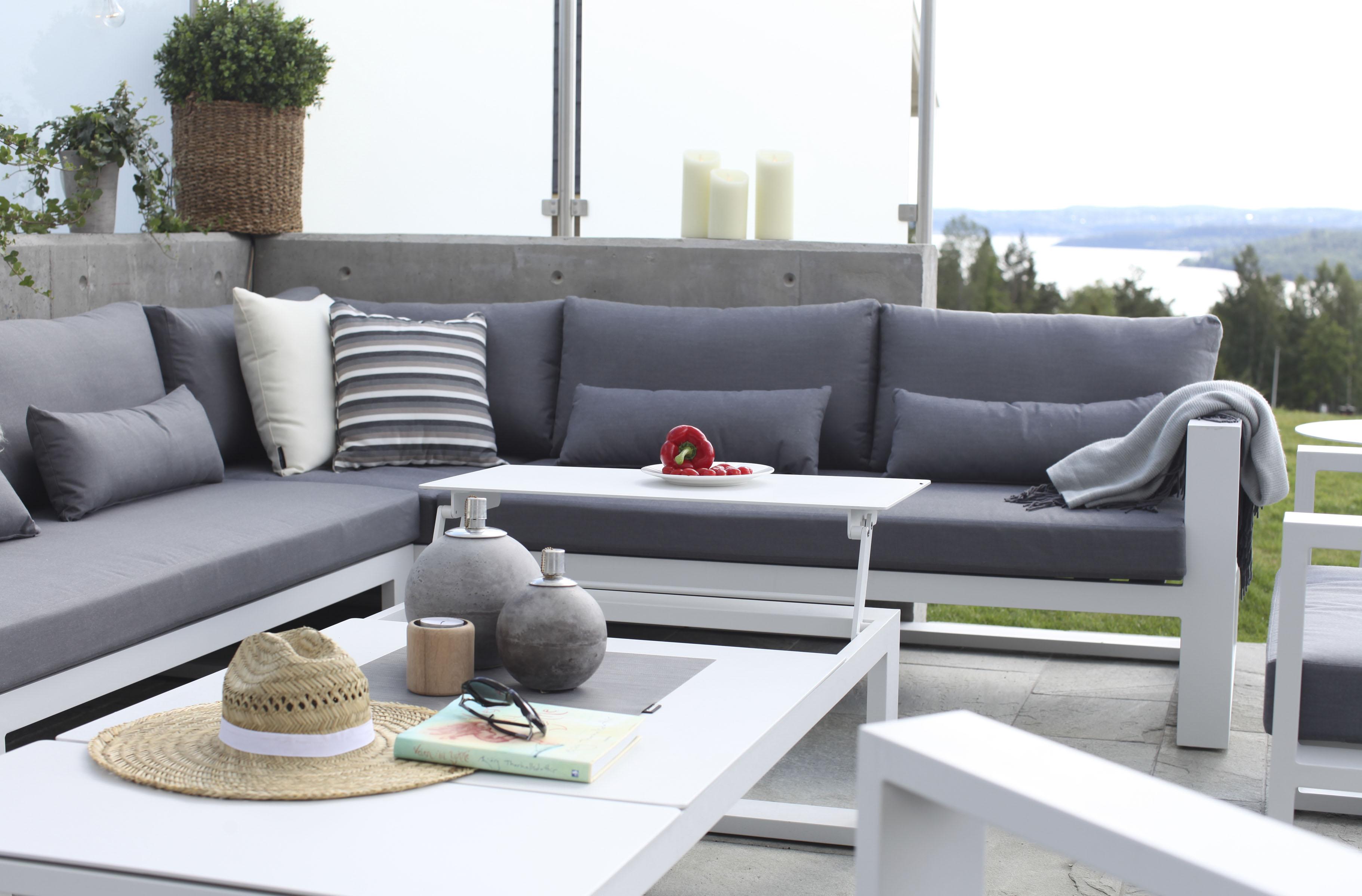Fräscha Aluminiumsmøbler - Hagemøbler og utemøbler i aluminium - Fine Design KY-31