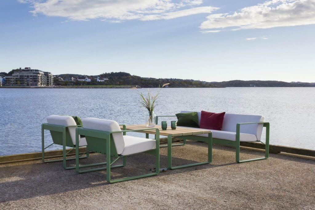 Hagemøbler og utemøbler fra Fine Design. sundays core furu hvit fra Fine design