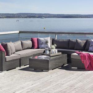 Hagemøbler og utemøbler fra Fine design - utesofa