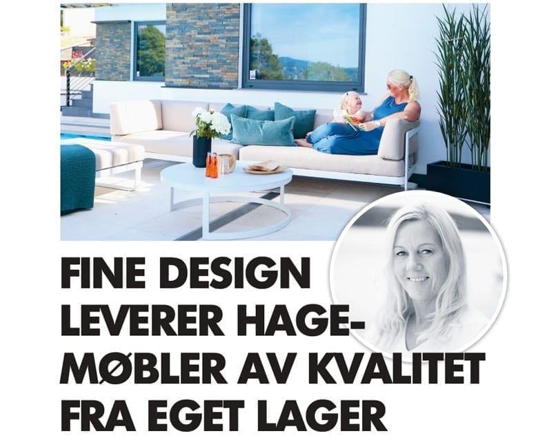 Presse Hagemøbler og utemøbler - Fine design