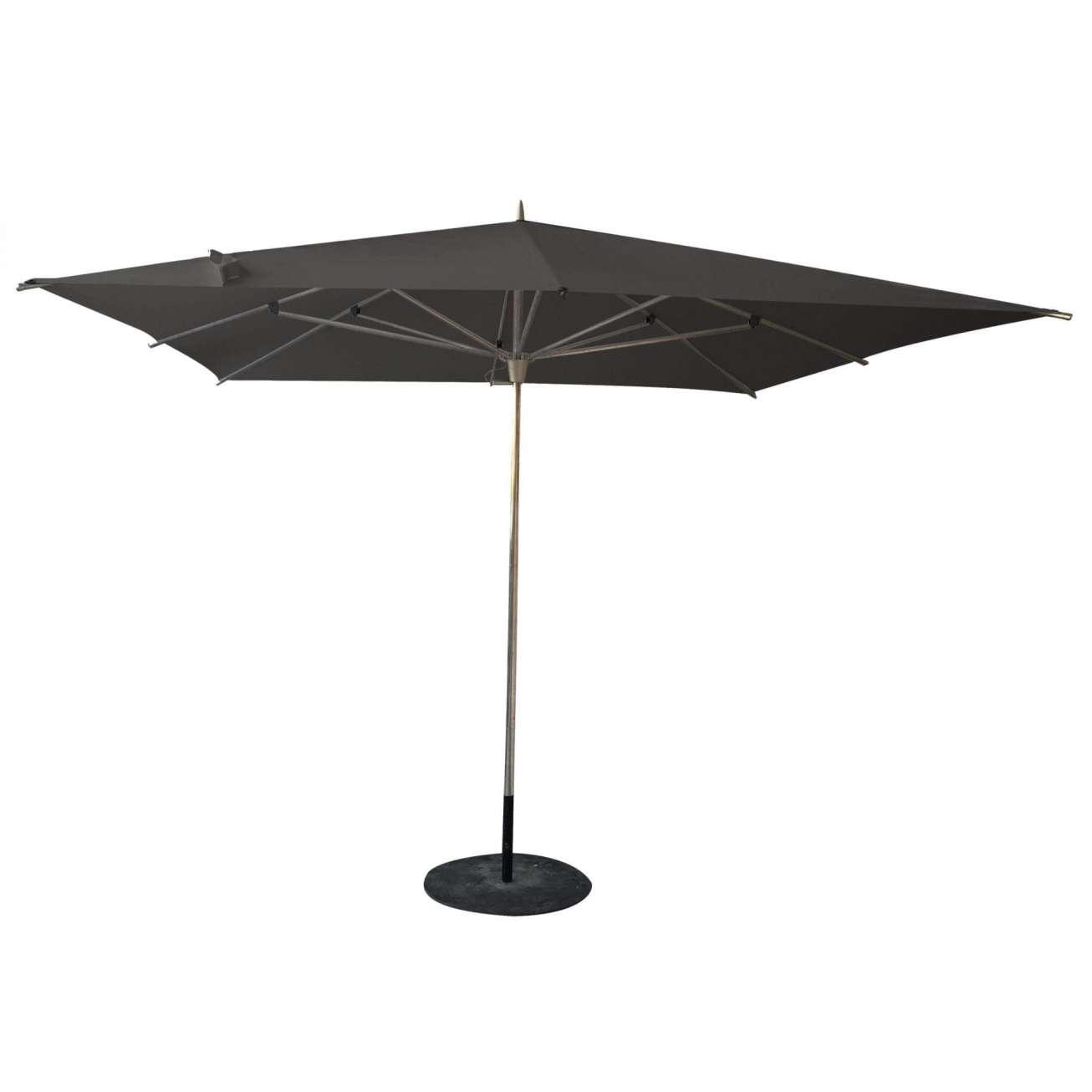 Parasoll GrÅ Push Up 2,5 Meter Hagemøbler og utemøbler - Fine design
