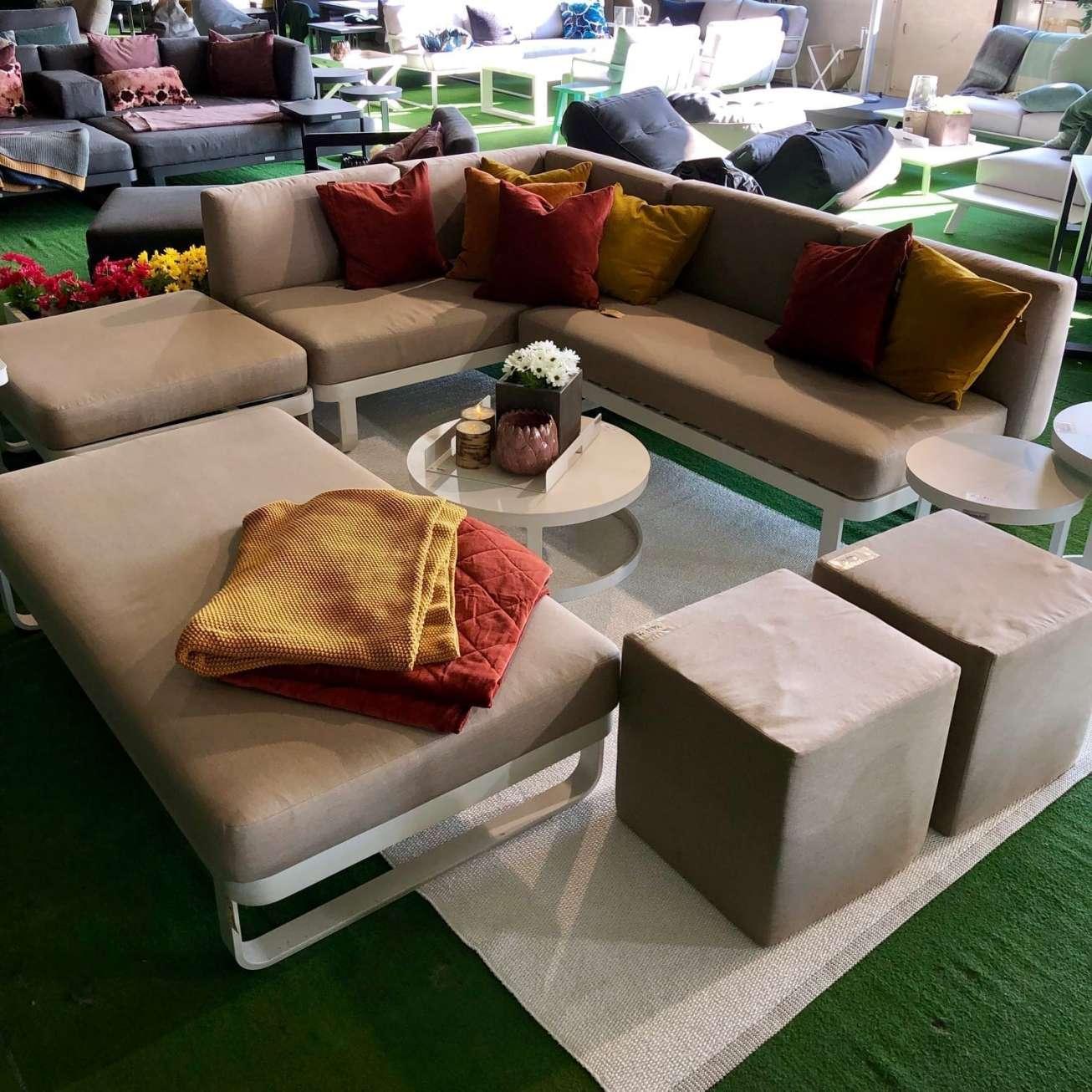 Pappelina Teppe Mono White 180×300 Cm (mn01830) Hagemøbler og utemøbler - Fine design