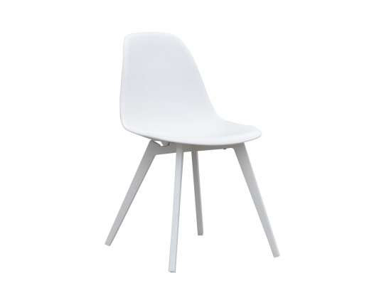 Hvit stol Hagemøbler og utemøbler - Fine design
