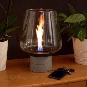 Tenderflame Mgo Lamp Concrete 25 Cm (300066) Hagemøbler og utemøbler - Fine design