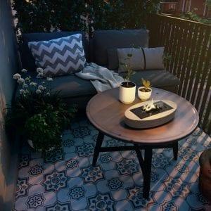 Carnation-mgo Hagemøbler og utemøbler - Fine design