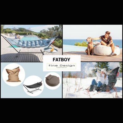 Hengekøye, sittepuff og sekkeputer fra FatBoy