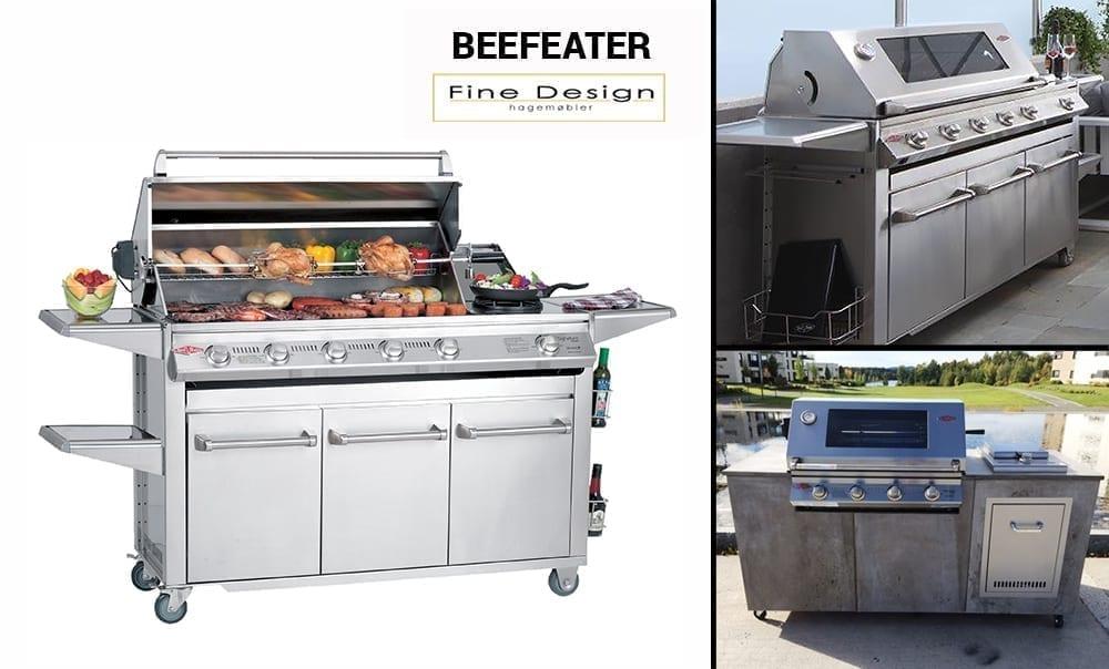 Fine Design selger Beefeater griller og utekjøkken