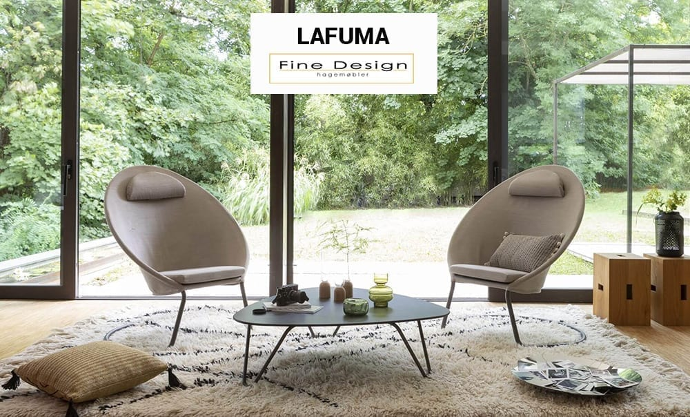 Fine Design selger Lafuma hagemøbler