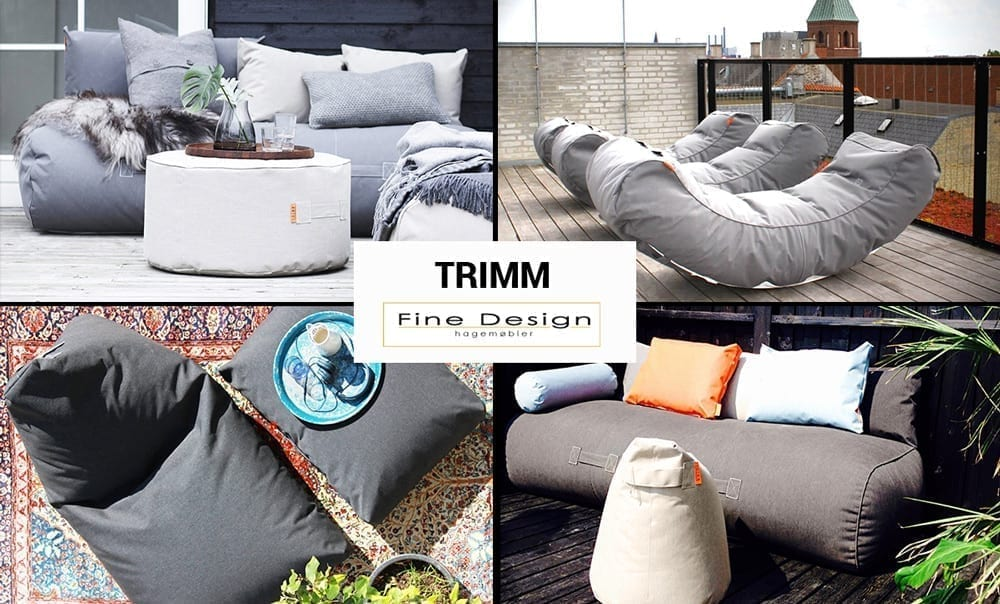 Trimm hos fine design Hagemøbler