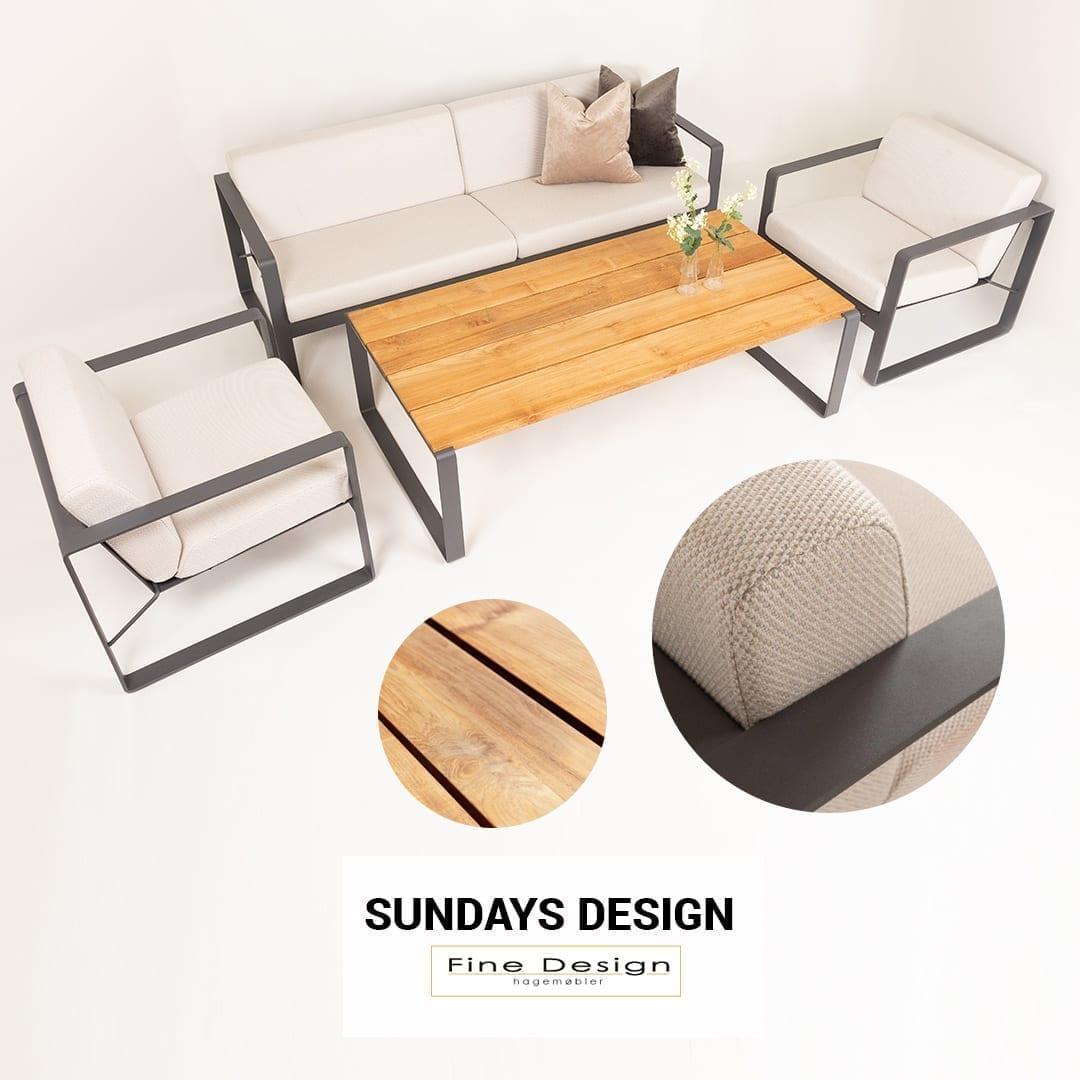Lys utesofagruppe fra Sundays får du hos Fine Design