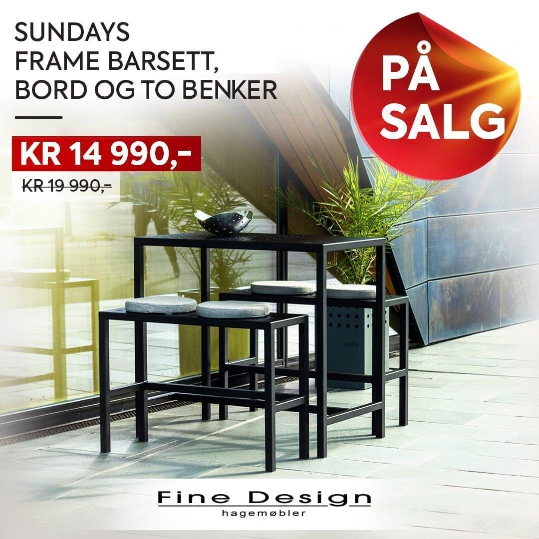 Sundays Frame barsett på tilbud