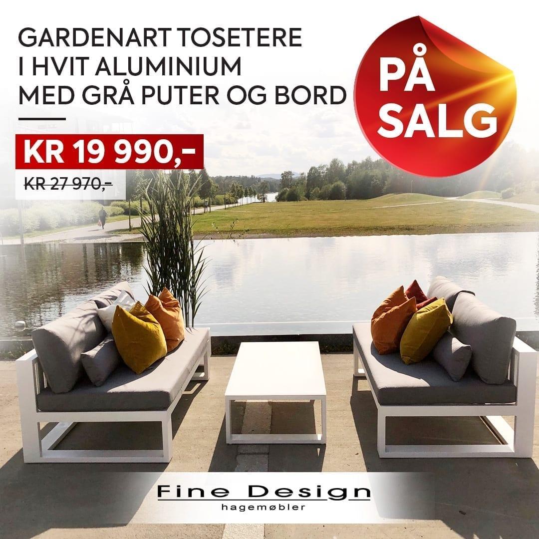 Hagemøbler og utemøbler - Fine design