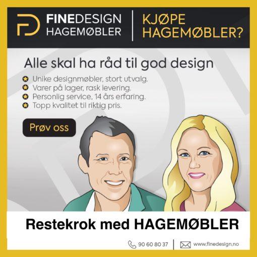 Salg På Hagemøbler – Restekrok – Gjør Et Kupp På Fornebu – Tilbud Hagemøbler og utemøbler - Fine design