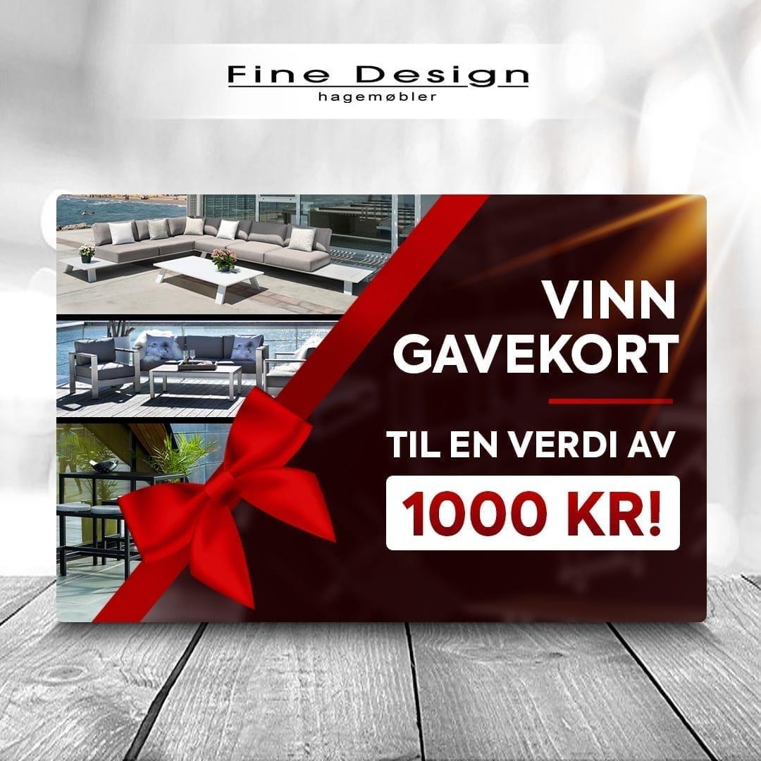 Vinn et 1000 kr gavekort