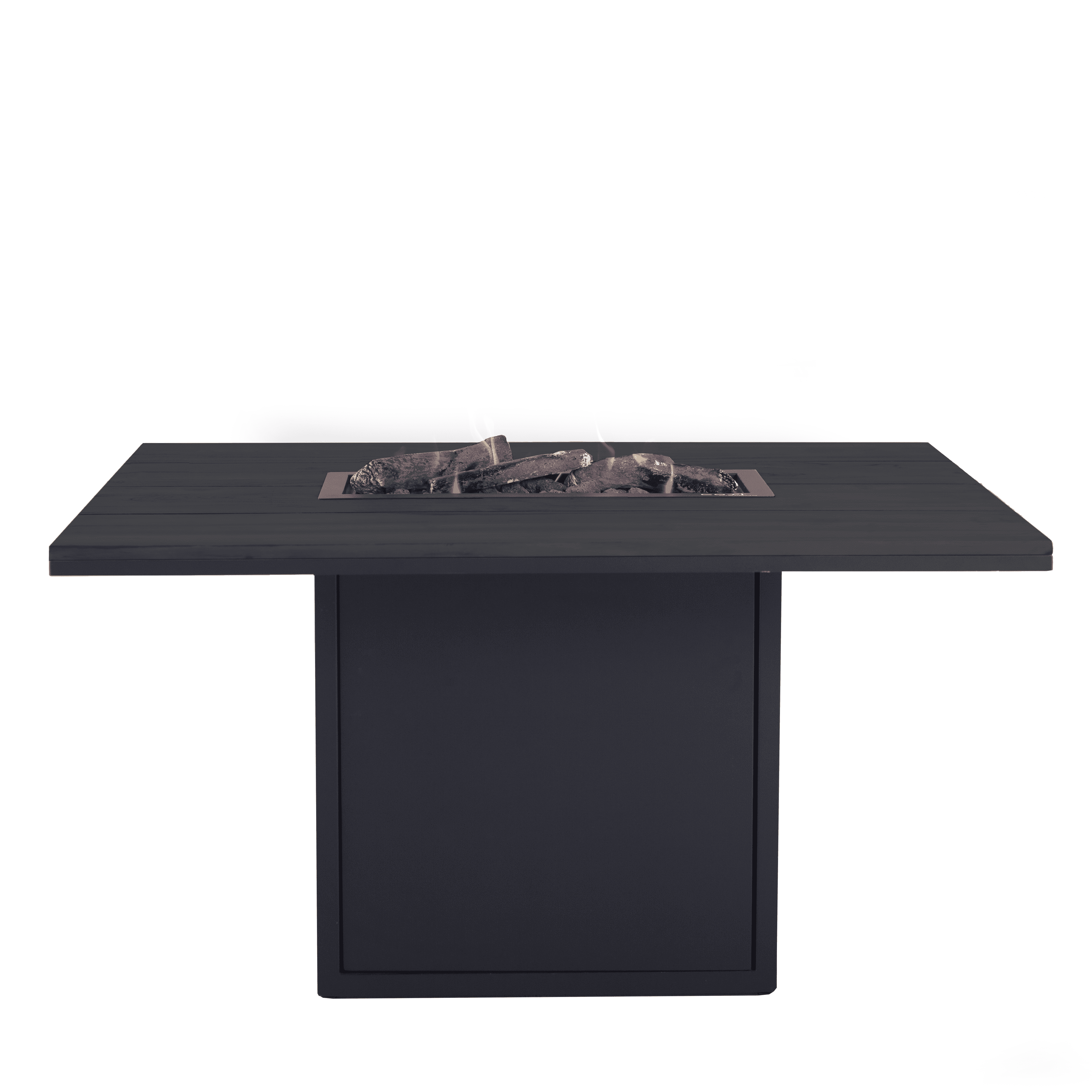 Spisebord med sort ramme