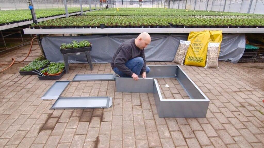 Bedd-plantekasser Hagemøbler og utemøbler - Fine design