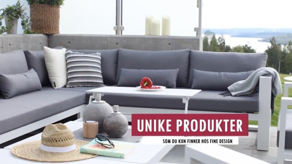 Fine-design-hagemobler Hagemøbler og utemøbler - Fine design