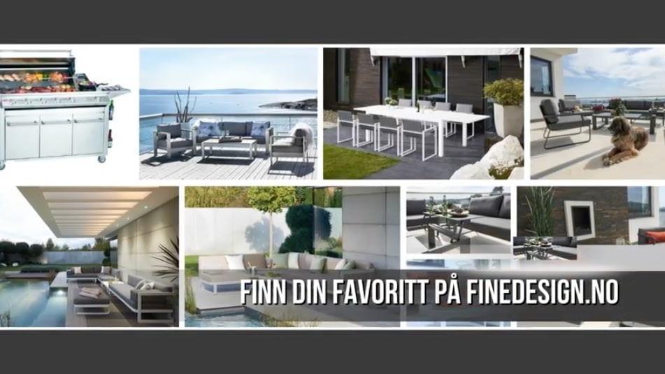 Hagemobler-for-den-designbevisste Hagemøbler og utemøbler - Fine design