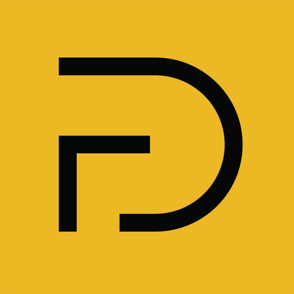 Ikon-svart-gul-bakgrunn Hagemøbler og utemøbler - Fine design