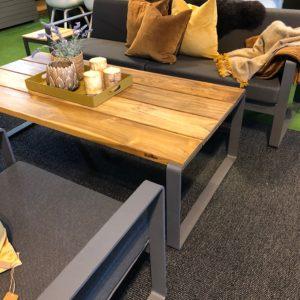Sundays Core Gruppe Bly Inkludert Puter I Sort Farge Hagemøbler og utemøbler - Fine design