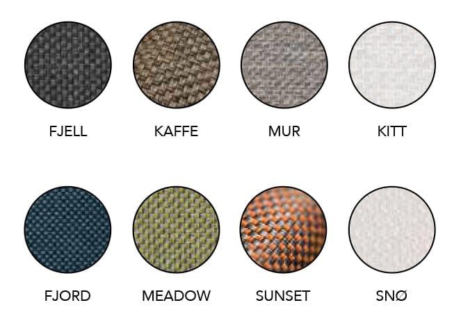 Farger-på-stoff-til-frame-kolleksjonen Hagemøbler og utemøbler - Fine design