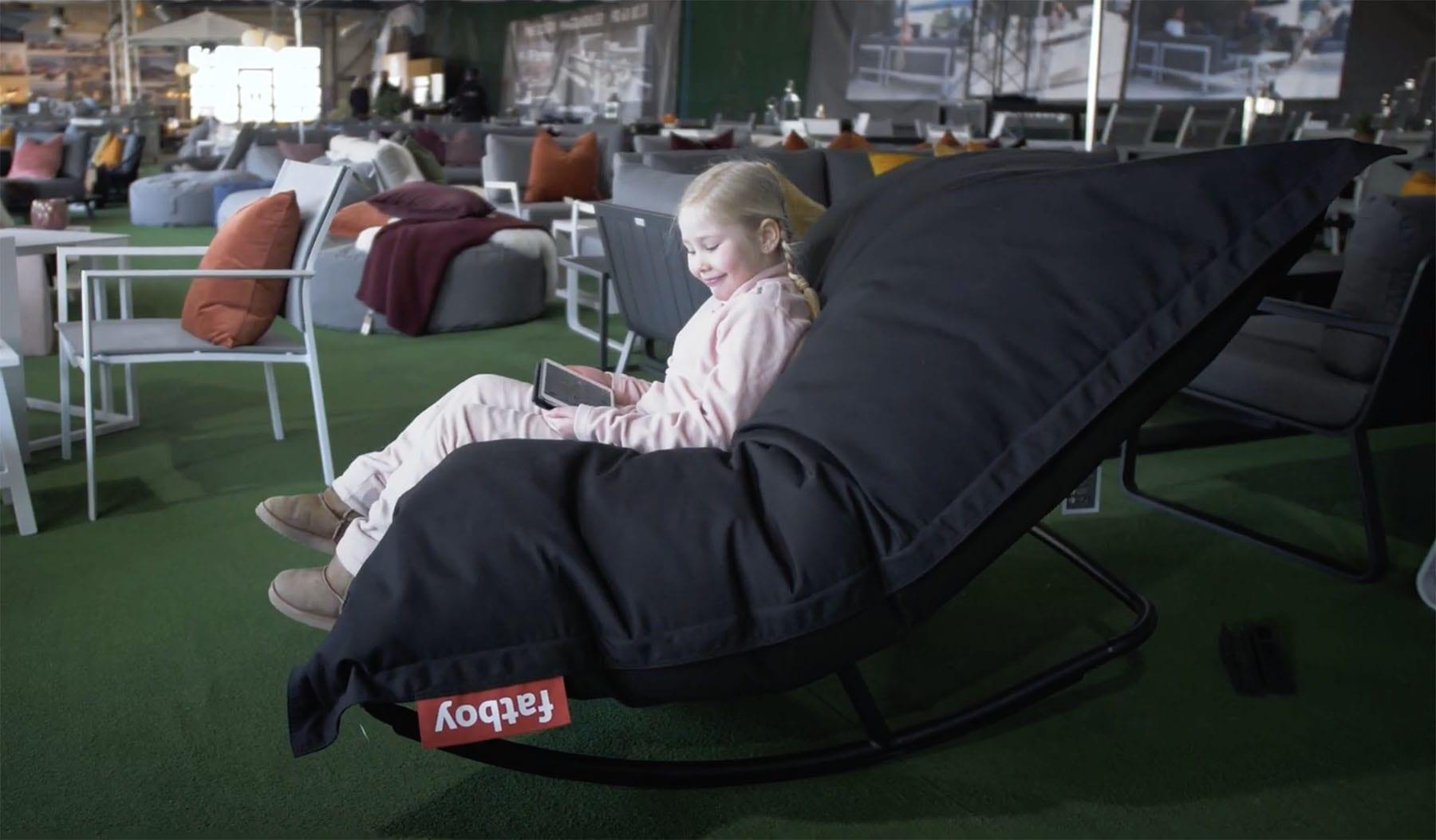 Fatboy-beanbag-til-liten-og-stor Hagemøbler og utemøbler - Fine design
