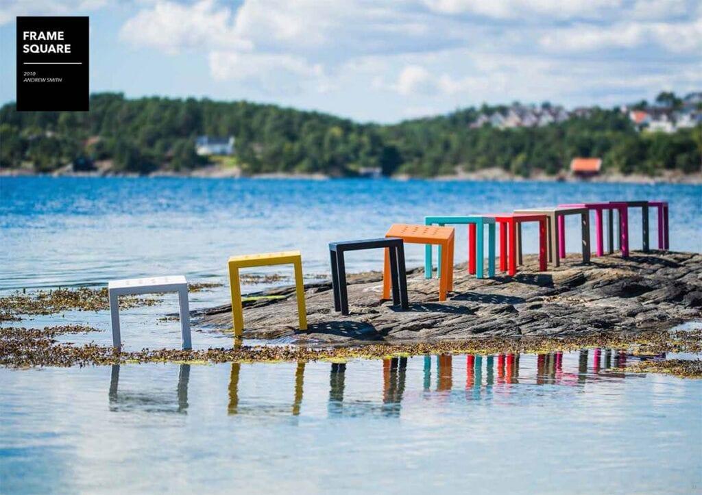 Frame-square-krakker-i-alle-farger-fra-sundays-design Hagemøbler og utemøbler - Fine design