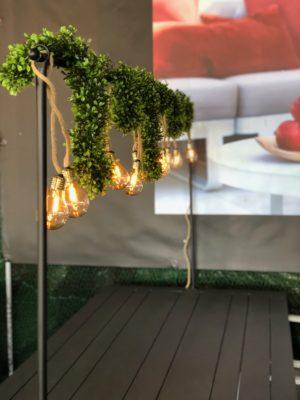 Dekorasjonsstativ For Bord Hagemøbler og utemøbler - Fine design