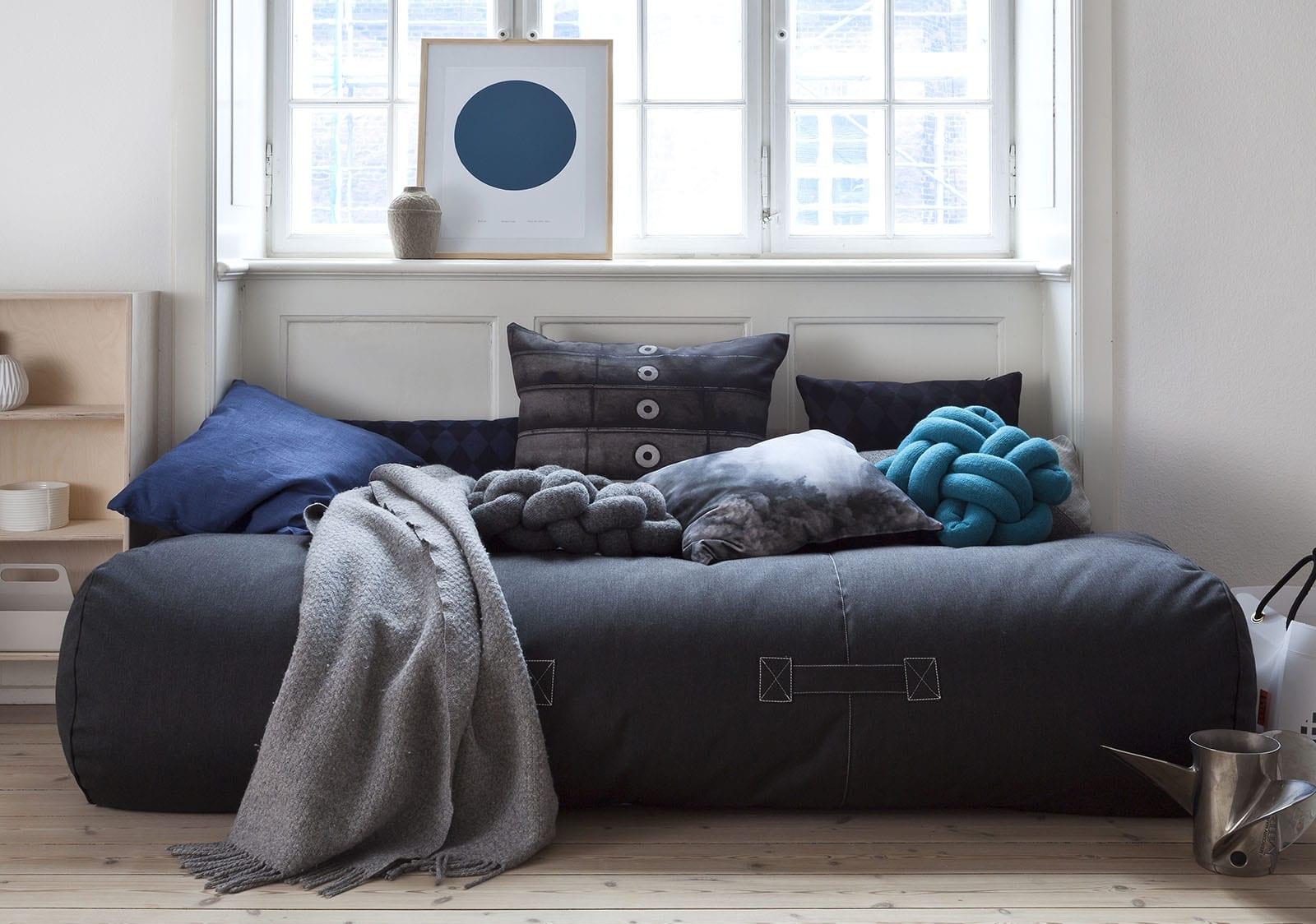 rocket-daybed-graphite-kan-brukes-innendørs-som-sofa Hagemøbler og utemøbler - Fine design