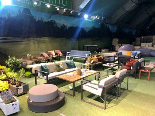 Sundays-utstilling Hagemøbler og utemøbler - Fine design