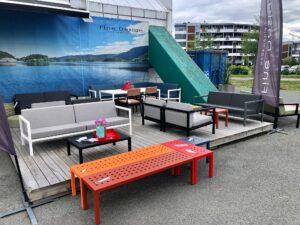 Sundays-utstillinger Hagemøbler og utemøbler - Fine design