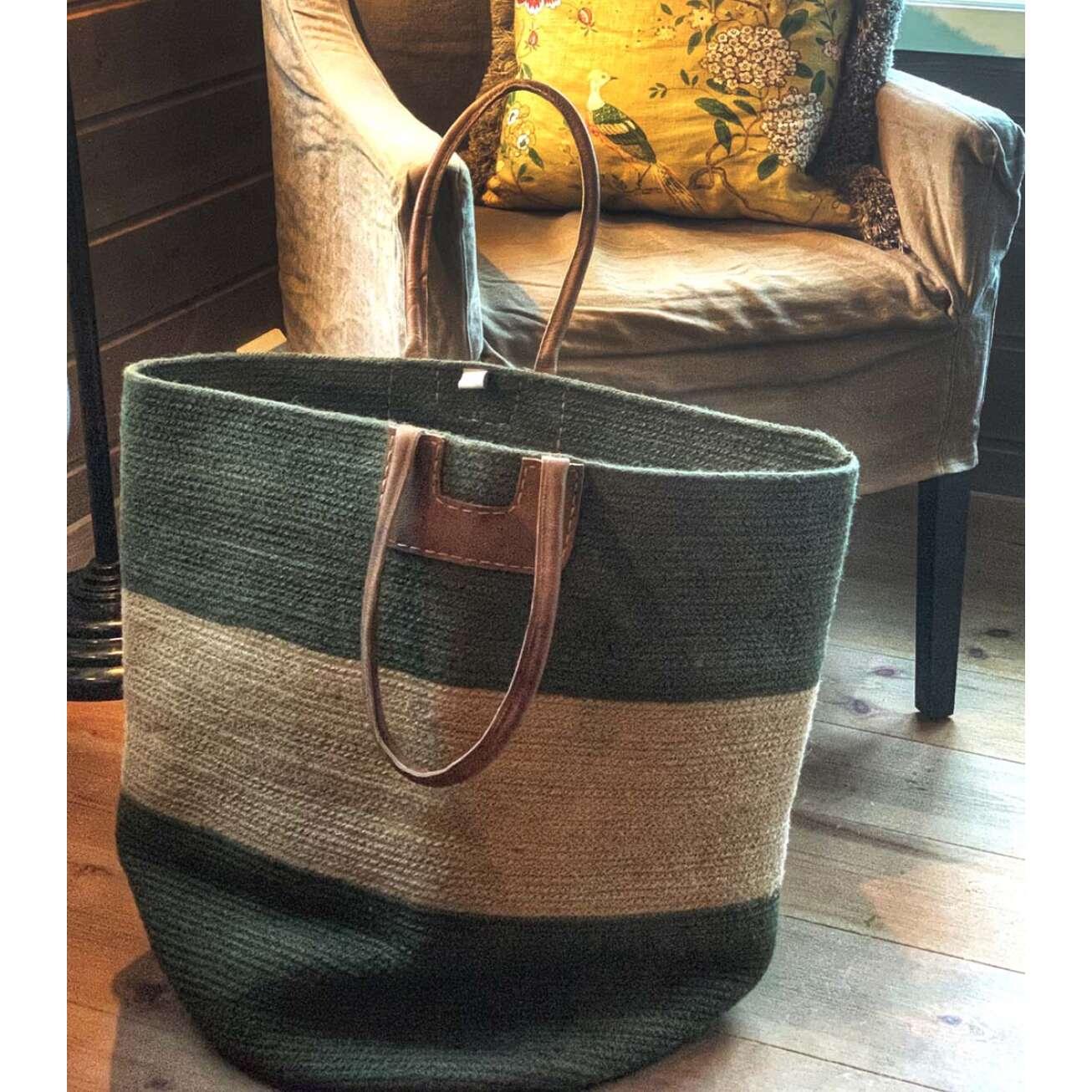 Gronn-bag-laget-av-house-of-good-people Hagemøbler og utemøbler - Fine design