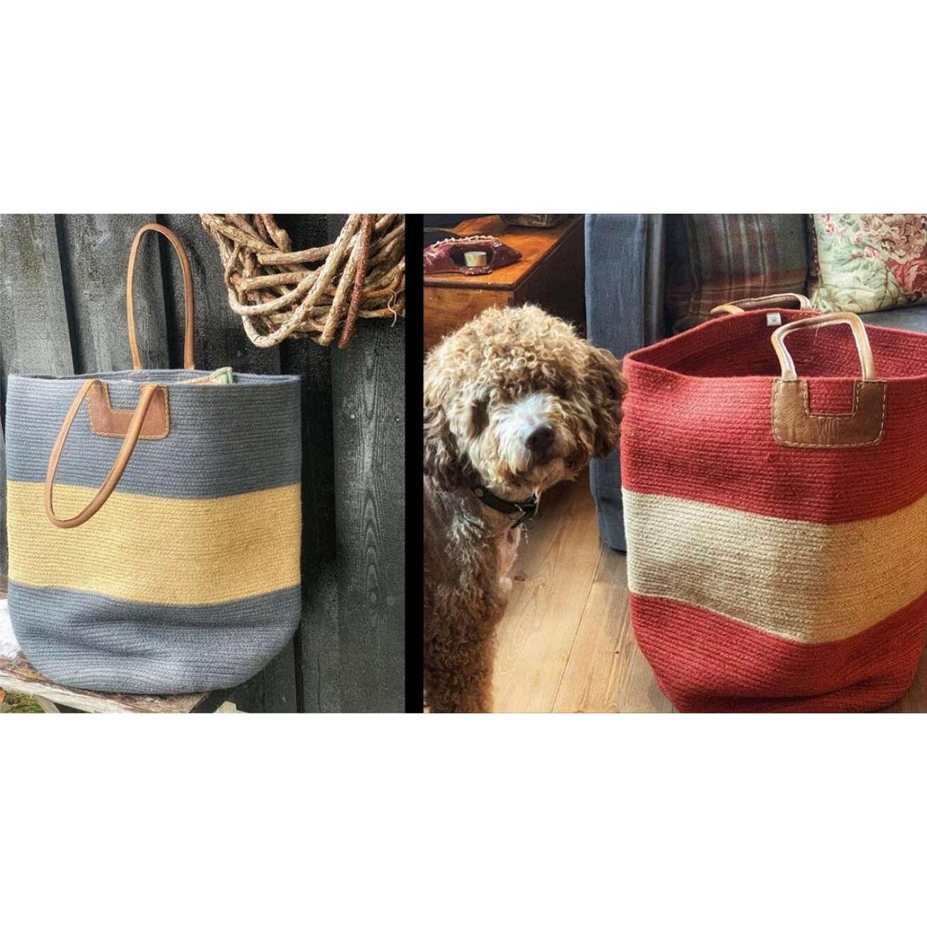 House-of-good-people-gul-bag-og-rod-bag-med-hund2 Hagemøbler og utemøbler - Fine design