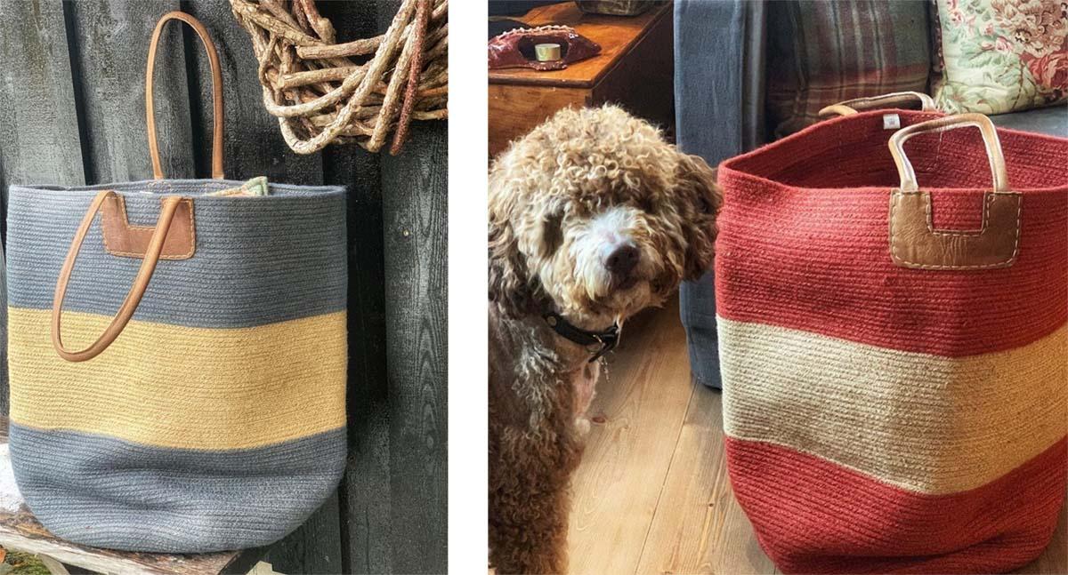 House-of-good-people-gul-bag-og-rod-bag-med-hund3 Hagemøbler og utemøbler - Fine design